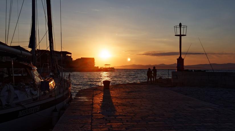 Ön Hvar iKroatien